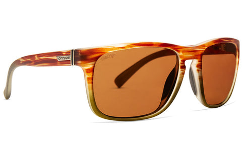 VonZipper - Lomax Marshland Fade Satin Sunglasses / Wildlife Bronze Polarized Lenses