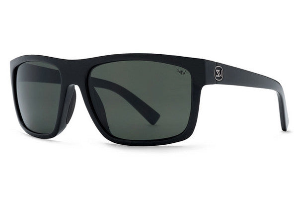 Von Zipper - Speedtuck Black Gloss BGX Sunglasses, Grey Glass Polarized Lenses