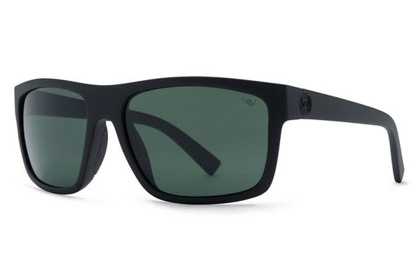 VonZipper - Speedtuck Black Smoke Satin BSZ Sunglasses, Grey Poly Polarized Lenses