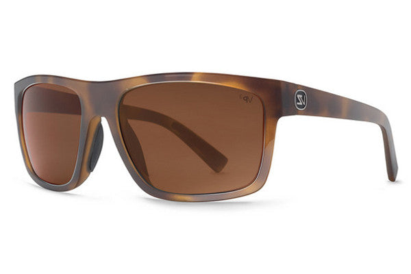 Von Zipper - Speedtuck Tortoise Gloss TPZ Sunglasses, Bronze Poly Polarized Lenses