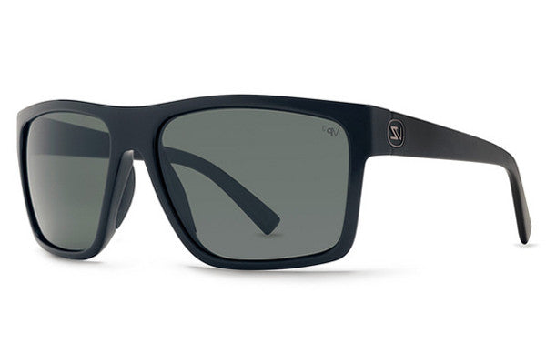 Von Zipper - Dipstick Black Gloss BPZ Sunglasses, Grey Poly Polarized Lenses