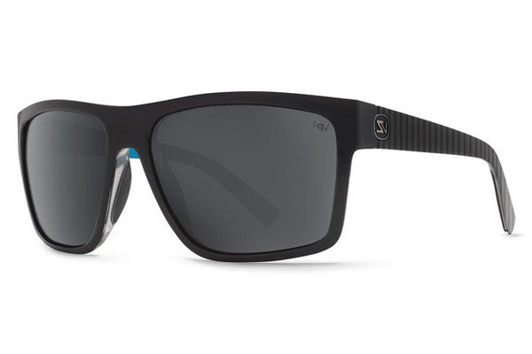 Von Zipper - Dipstick Parko Signature JL1 Sunglasses, Grey Chrome Poly Polarized Lensess