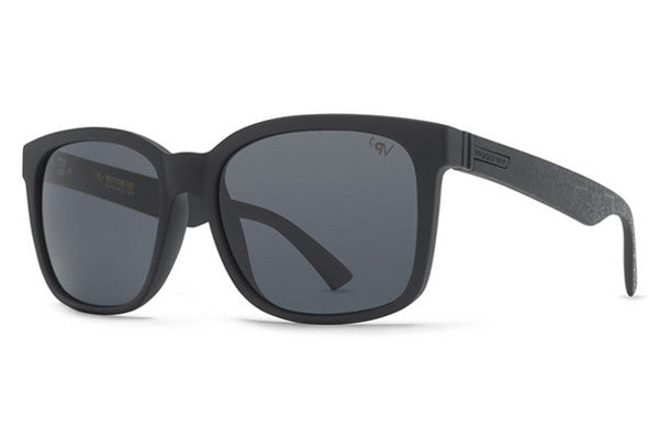 Von Zipper - Howl Freestone Signature JKB Sunglasses, Grey Poly Polarized Lenses