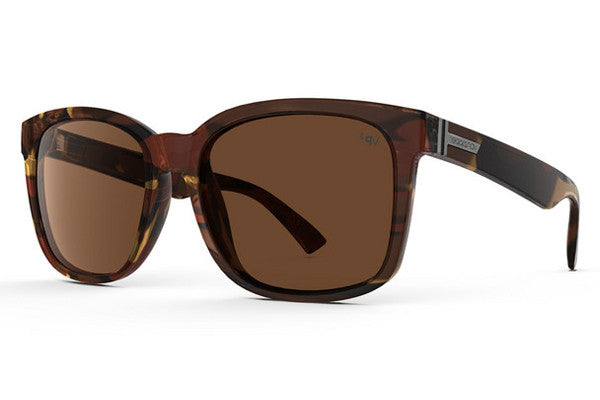 Von Zipper - Howl Tobacco Tortoise Gloss OBP Sunglasses, Bronze Poly Polarized Lenses
