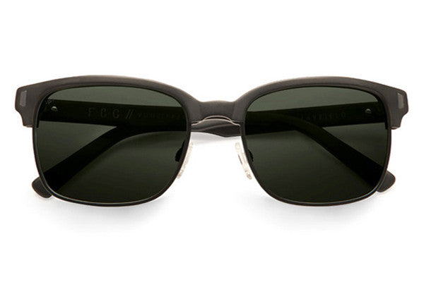 Von Zipper - Mayfield Black Satin BSP Sunglasses, Grey CR-39 Polarized Lenses