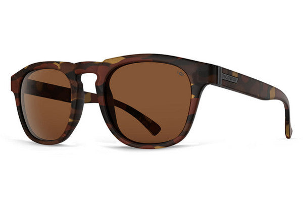 Von Zipper - Banner Tobacco Tortoise Gloss OBP Sunglasses, Bronze Poly Polarized Lenses