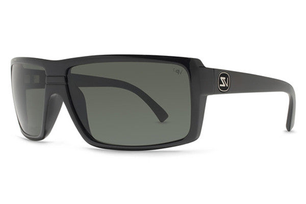 VonZipper - Snark Black Gloss BPP Sunglasses, Grey Poly Polarized Lenses