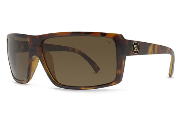 Von Zipper - Snark Tortoise TPP Sunglasses, Bronze Poly Polarized Lenses