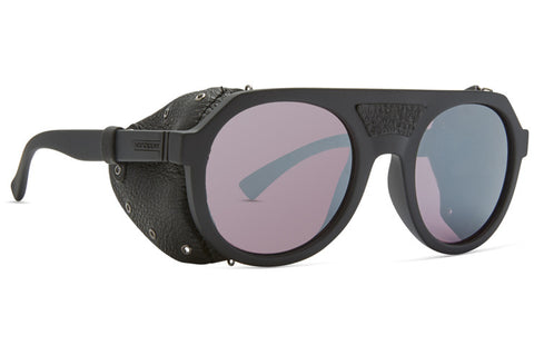 VonZipper - Psychwig Black Gloss Glacier Sunglasses / Wildlife Rose Silver Chrome Lenses