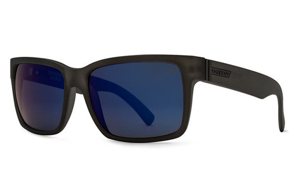 Von Zipper - Elmore S.I.N. Charcoal Satin CSP Sunglasses, Astro Glo Polarized Lenses