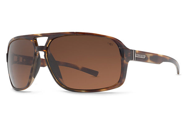 Von Zipper - Decco Tortoise TPP Sunglasses, Bronze Poly Polarized Lenses
