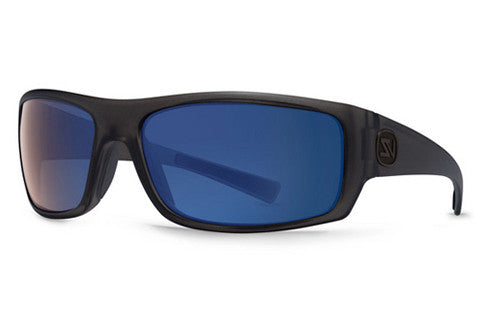 Von Zipper - Scissorkick Charcoal Satin CSP Sunglasses, Astro Poly Polarized Lenses