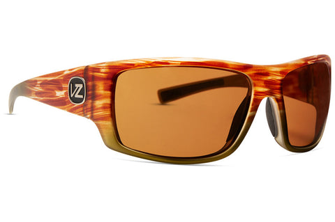 VonZipper - Suplex Marshland Fade Satin Sunglasses / Wildlife Bronze Polarized Lenses