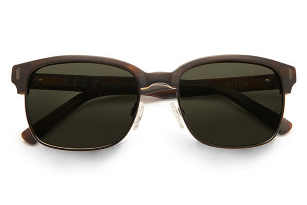 Von Zipper - Mayfield Tortoise Satin TOR Sunglasses, Grey Lenses