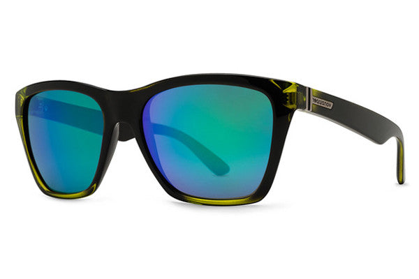 Von Zipper - Booker Mindglo Lime FBL Sunglasses, Quasar Glo Lenses
