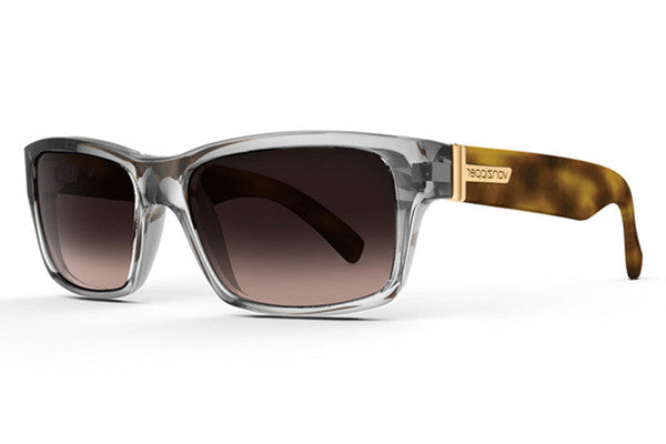 VonZipper - Fulton Crystal Tortoise Gloss CYB Sunglasses, Brown Gradient Lenses