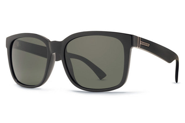 VonZipper - Howl Black Gloss BKV Sunglasses, Vintage Grey Lenses