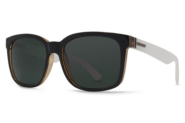 Von Zipper - Howl Black Buff White BWG Sunglasses, Grey Lenses