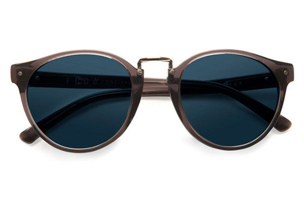 Von Zipper - Stax Smoke SMN Sunglasses, Navy Lenses