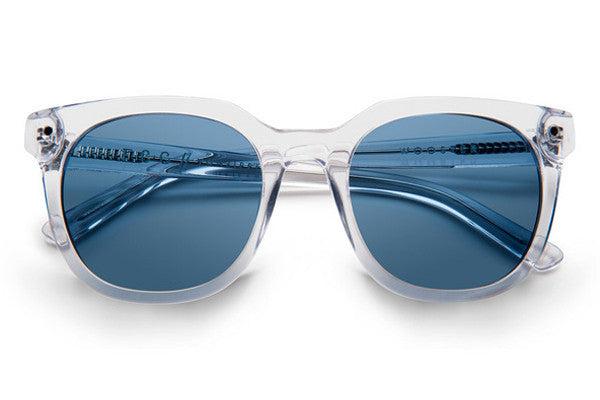 Von Zipper - Wooster Crystal CYN Sunglasses, Navy Lenses