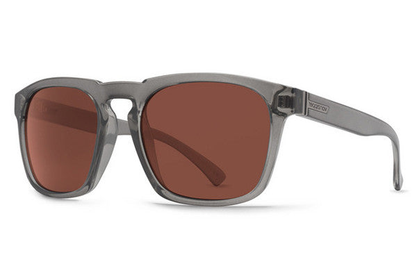Von Zipper - Banner Charcoal CCR Sunglasses, Crystal Rose Lenses