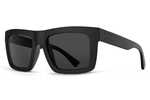 Suncloud - Aviator Gunmetal Sunglasses, Gray Polarized Lenses