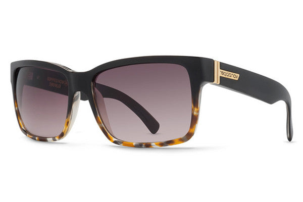 Von Zipper - Elmore Black Tortoise TBK Sunglasses, Brown Gradient Lenses