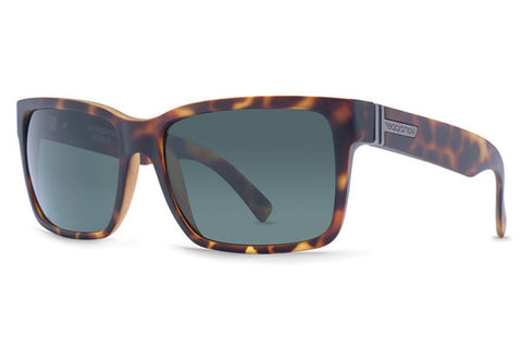 VonZipper - Clutch Black Satin SIN Sunglasses, Grey Lenses
