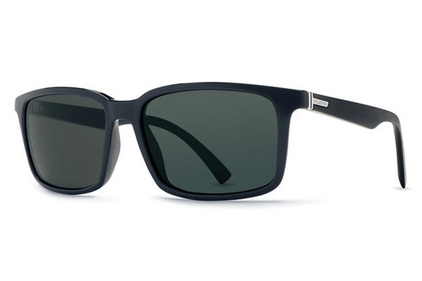Von Zipper - Pinch Black Gloss BKV Sunglasses, Vintage Grey Lenses