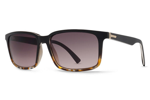 Von Zipper - Pinch Black Tortoise TBK Sunglasses, Brown Gradient Lenses
