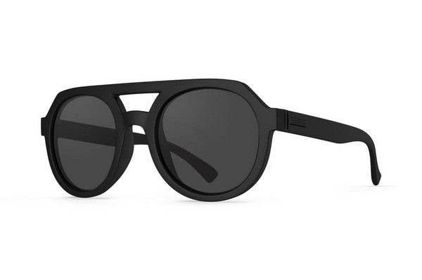 Von Zipper - Psychwig Black Satin BKS Sunglasses, Grey Lenses