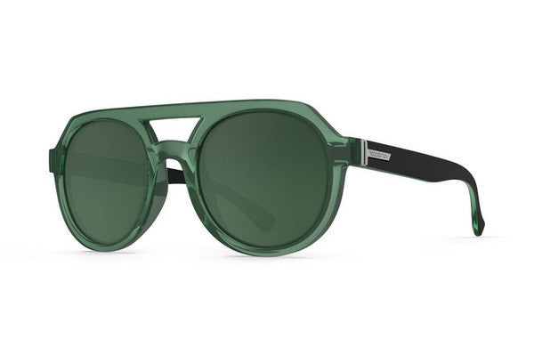Von Zipper - Psychwig Bottle Green Black CYG Sunglasses, Green Lenses