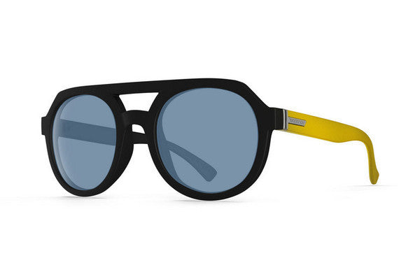 Von Zipper - Psychwig Mellow Yellow HM1 Sunglasses, Navy Lenses