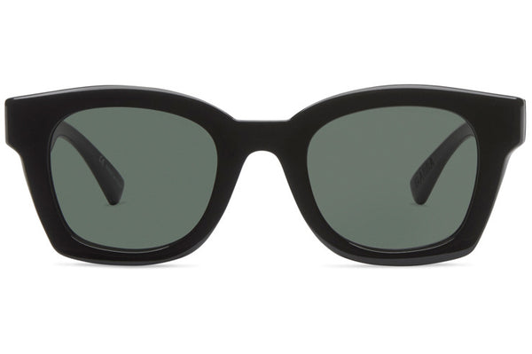 VonZipper - Gabba Black Gloss Sunglasses / Vintage Grey Lenses