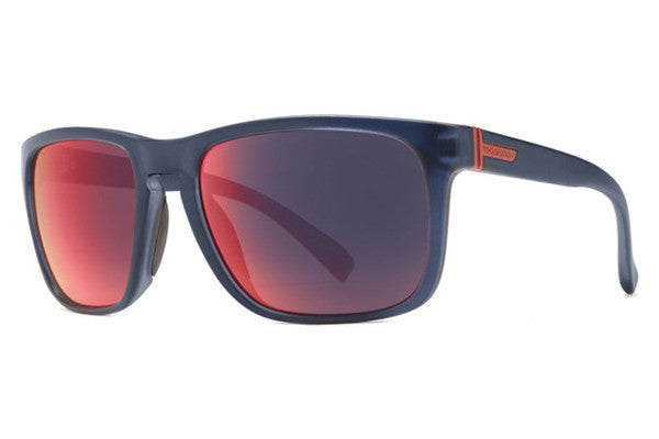 Von Zipper - Lomax Navy Satin NVY Sunglasses, Galactic Glo Lenses