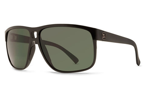 Von Zipper - Blotto Black Gloss BKV Sunglasses, Vintage Grey Lenses