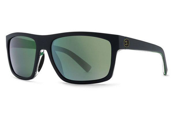 VonZipper - Speedtuck Black Satin Gloss BZG Sunglasses, Quasar Eclipse Lenses