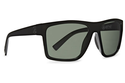 VonZipper - Dipstick Black Gloss Sunglasses / Vintage Grey Lenses