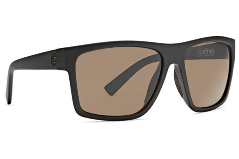 VonZipper - Dipstick Black Soft Satin Sunglasses / Bronze Lenses