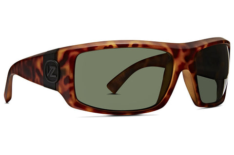 VonZipper - Clutch Vintage Tortoise Satin Sunglasses / Vintage Grey Lenses