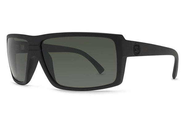 Von Zipper - Snark Black Satin BKS Sunglasses, Grey Lenses