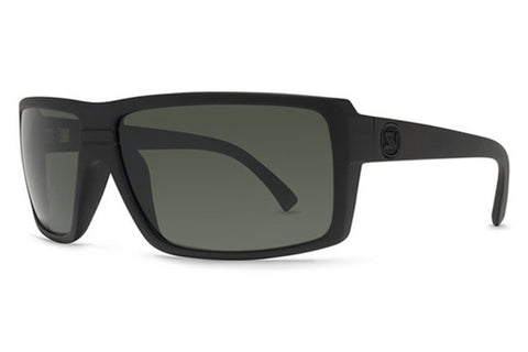 VonZipper - Snark Black Satin BKS Sunglasses, Grey Lenses