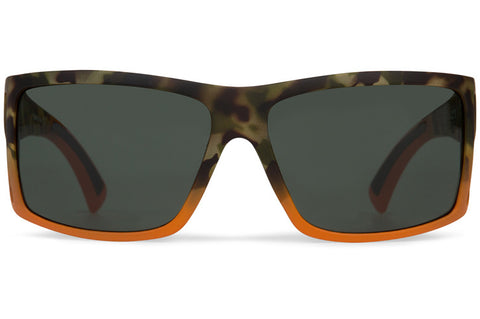VonZipper - Checko Camo Blaze Satin Sunglasses / Vintage Grey Lenses