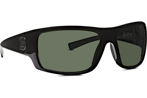 VonZipper - Suplex Black Gloss Sunglasses / Vintage Grey Lenses
