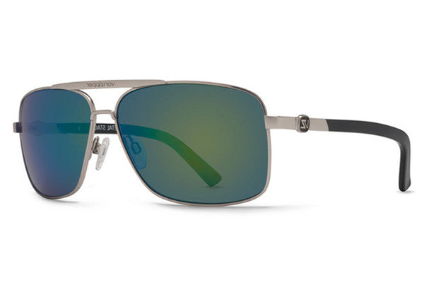 Von Zipper - Metal Stache Silver SSG Sunglasses, Quasar Glo Lenses