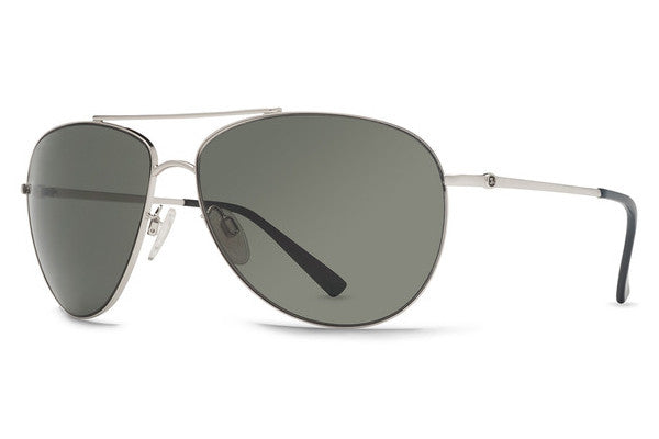 VonZipper - Wingding Silver SGY Sunglasses, Grey Lenses