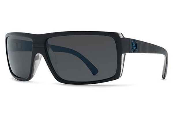 VonZipper - Snark Lux Blue Metallic LUB Sunglasses, Grey Lenses