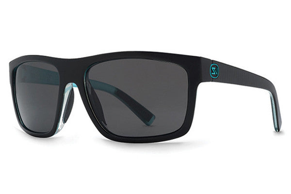 VonZipper - Speedtuck Lux Black Mint LUM Sunglasses, Grey Lenses