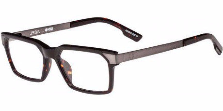 Spy - Abel 53 Dark Tort/Gunmetal Rx Glasses