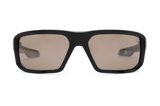 Spy - Mccoy Black Sunglasses, Happy Bronze Polarized W/ Black Mirror Lenses